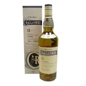 Cragganmore 12 years Single Malt Scotch Whisky (20cl 40%)