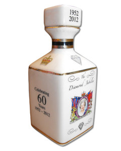 Diamond Jubilee Decanter - Scotch Whisky (40% volume 10cl)