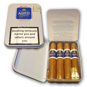Dunhill Aged Caletas Tin - Petit Corona Cigar - Tin of 4