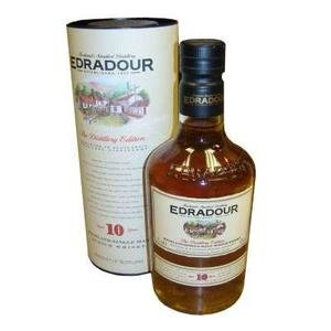 Edradour Single Malt Scotch Whisky 10 Year Old 40% Vol 70Cl