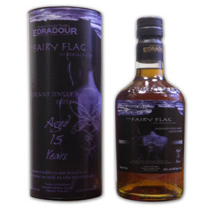 Edradour The Fairy Flag 15 Year Old Single Malt Scotch Whisky  - 70cl 46%