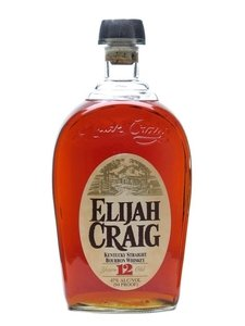 Elijah Craig 12 Year Old Bourbon Whiskey (47% 70cl)