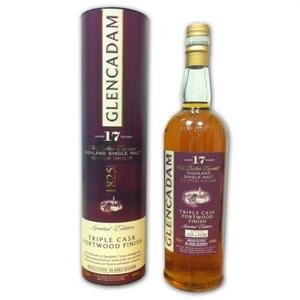 Glencadam 17 year old Triple Cask Portwood Finish Single Malt Scotch Whisky  (70cl 46%)