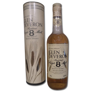 Glen Deveron 8 years old (circa 1980s) 75cl 40%