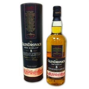 Glendronach 8 Years Old - The Hielan Single Malt Scotch Whisky (70cl 46%)