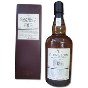 Glen Elgin 12 Year Old Single Malt Scotch Whisky 70cl 43%