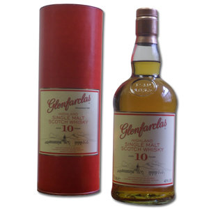 Glenfarclas 10 Year Old Single Malt Scotch Whisky 40% 70Cl