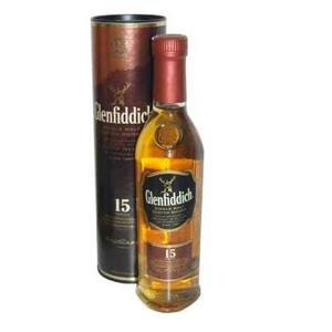 Glenfiddich 15 Years Old Single Malt Scotch Whisky 40% 20cl