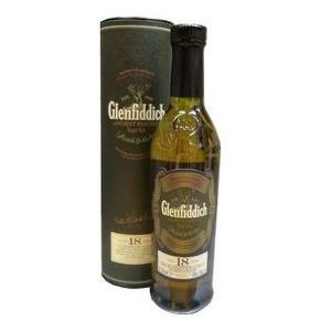 Glenfiddich 18 Year Old Single Malt Scotch Whisky (20cl 40%)