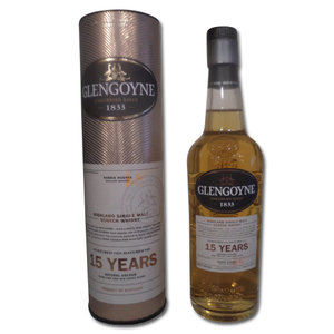 Glengoyne 15 Year Old Single Malt Scotch Whisky - 20cl 43%