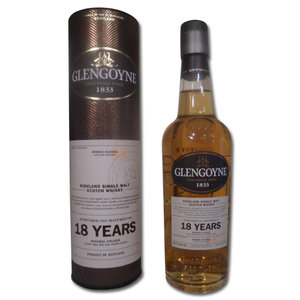 Glengoyne 18 Year Old Single Malt Scotch Whisky - 20cl 43%