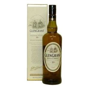 Glen Grant 10 Year Old Single Malt Scotch Whisky (70cl 40%)