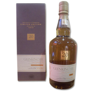 Glenkinchie 20 year old - bottled 2010 70cl 55.1%