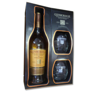Glenmorangie Original 10 year old with 2 Glasses 70cl 40%