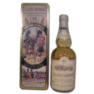 Glen Moray 12 year old Black Watch Regiment Tin 75cl 43%