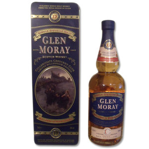 Glen Moray 12 Year Old Single Malt Scotch Whisky Cullercoats Crescent Tin 70cl 40%