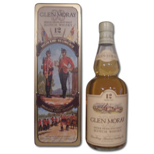 Glen Moray 12 year old Highland Light Infantry Tin 75cl 40%