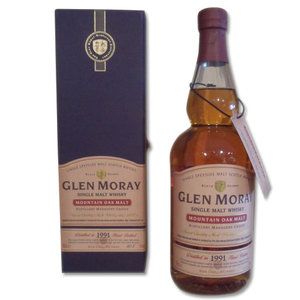 Glen Moray 1991 - Mountain Oak Single Malt Scotch Whisky 70cl 60.5%