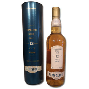 Glen Scotia 12 Year Old 70cl Single Malt Scotch Whisky 40%