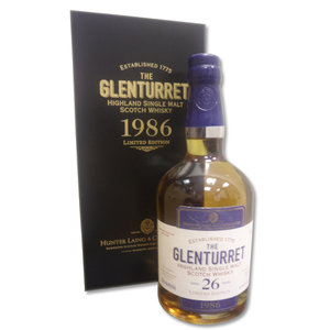 Glenturret 1986 26 Year Old Single Malt Scotch Whisky 70cl