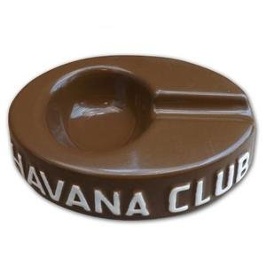 Havana Club Collection Ashtray - Egoista Single Cigar Ashtray - Havana Brown