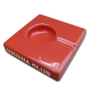 Havana Club Collection Ashtray - El Solito Cigarillo Ashtray - Red Salmon