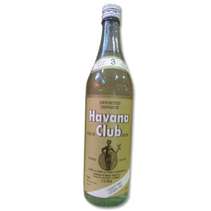 Havana Club Light Dry - 1970s Rum 750ml 40%