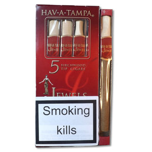 Hav A Tampa Jewels Sweet Cigar - Pack of 5