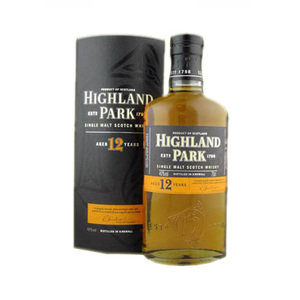 Highland Park 12 Year Old - 70cl 40% - Online Only Price!