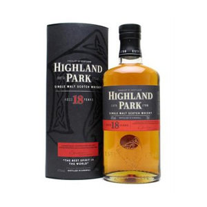 Highland Park 18 Year Old Single Malt Scotch Whisky (70cl 43%)
