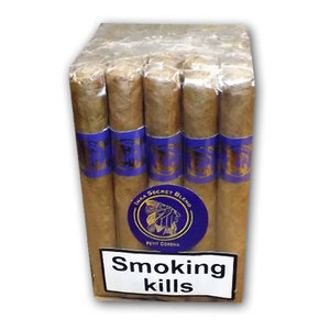 Inka Secret Blend - Azul Blue - Petit Corona Cigar - Bundle of 25