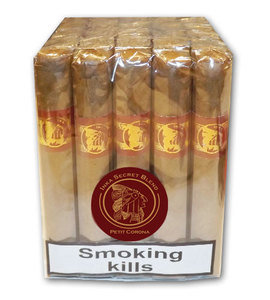 Inka Secret Blend - Rojo Red - Petit Corona Cigar - Bundle of 25