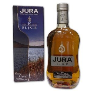 Isle of Jura 12 Year Old Elixir Single Malt Scotch Whisky 70cl 40%