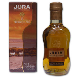 Isle of Jura 16 years - Diurachs Own - 20cl 40%