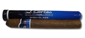J. Cortes High Class Sumatran Cigar - Blue - 1 Single