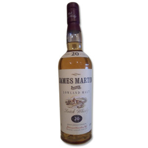 James Martin 20 years old Single Lowland Malt 70cl