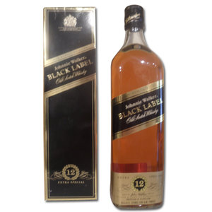 Johnnie Walker Black Label (Armed Forces) 12 Year Old Blended Whisky  70cl