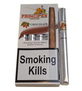 La Aurora Principe Chicos Flavoured Cigars - Brown - Pack of