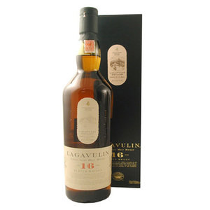 Lagavulin 16 Year Old Single Malt Scotch Whisky (70cl 43%) -Online Only Price!