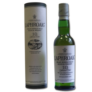 Laphroaig Single Malt Scotch Whisky 10 Year Old 40% Vol 35Cl
