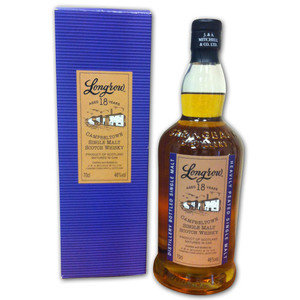 Longrow 18 Year Old Single Malt Scotch Whisky