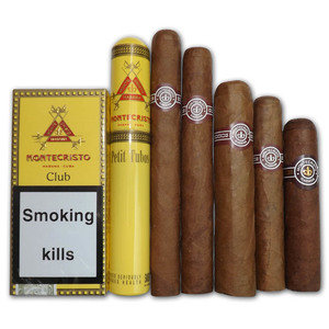 2015 Montecristo Selection sampler - 6 Cigars