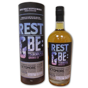 Rest & Be Thankful Octomore 6 Year Old Single Malt Scotch Whisky (70cl 63.8%)