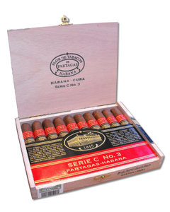 Partagas Serie C No. 3 Cigar (Limited Edition - 2012) - Box of 1