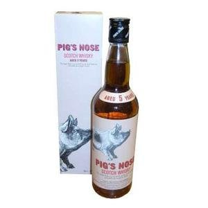 Pigs Nose Blended Whisky 5 Year Old - 70cl 40%