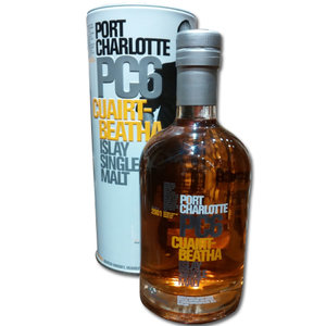 Port Charlotte 6 Years Old PC6 Single Malt Scotch Whisky 70cl 61.6%