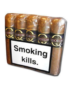 Quorum Short Robusto Cigar - Pack of 10