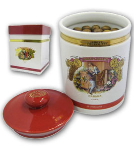 Romeo y Julieta Short Churchill Ceramic Jar - 25 Cigars