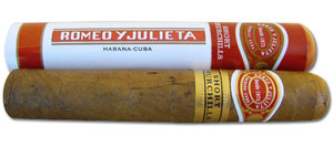 Romeo y Julieta Short Churchill Tubed Cigar - 1 Single