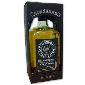 Cadenheads Royal Lochnagar 18 year old (70cl 55.9%)